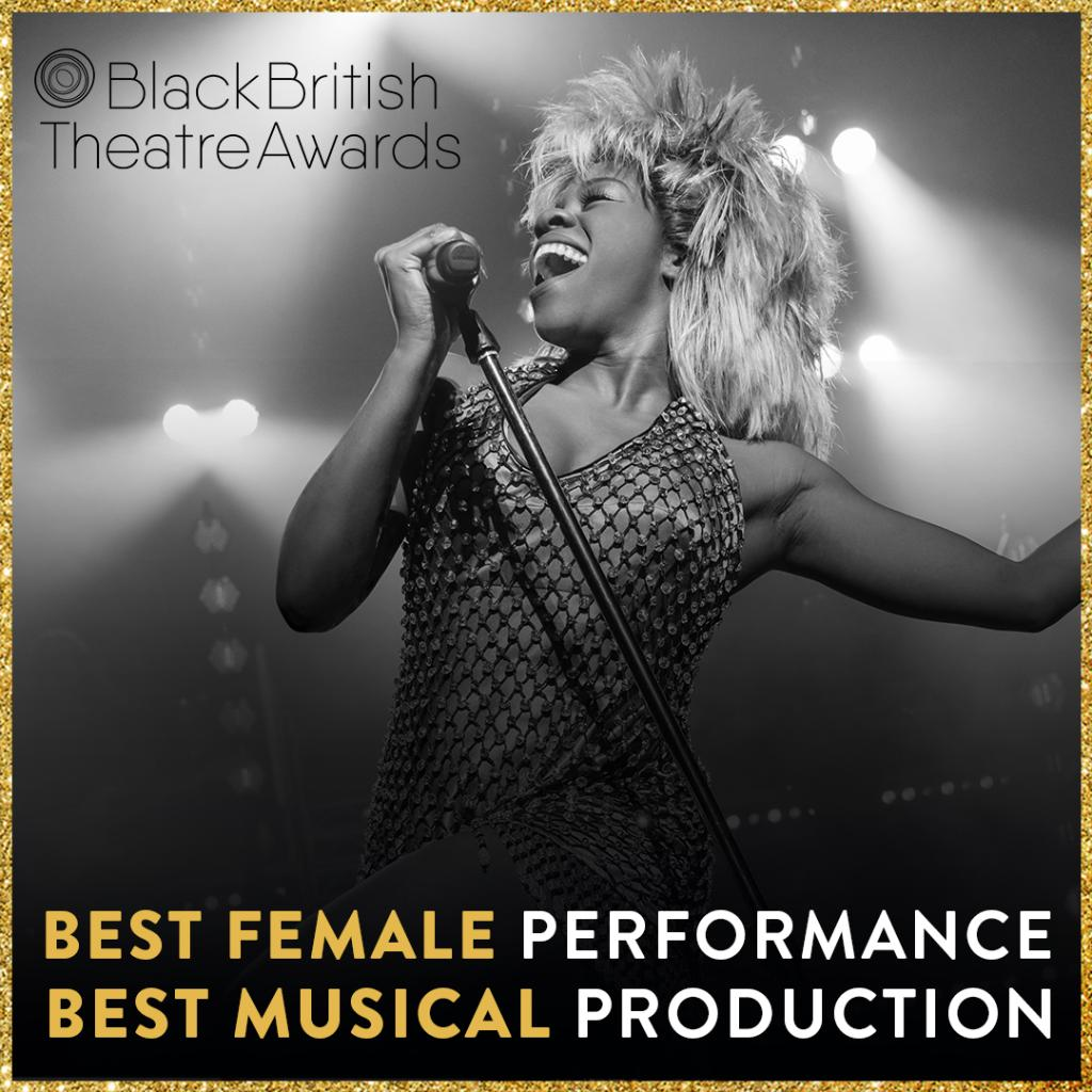We're delighted to have been shortlisted for Best Musical Production at @theBBTAs! Huge congratulations to @aisha_jawando who also picks up a nomination for Best Female Actor in a Musical! Good luck to all the nominees. #TINATheMusical #TheBBTAs https://t.co/j87hPnvtdw