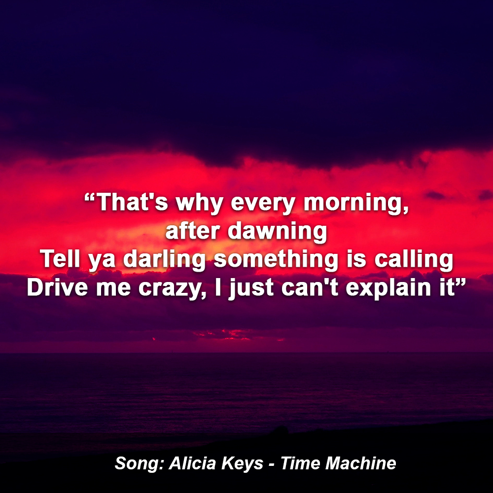 🎧 Alicia Keys - Time Machine Lyrics Video: https://t.co/jv0ztBsm9Q  @aliciakeys   #aliciakeys #timemachine #lyrics #afterhours #quotes https://t.co/jHSAQsOf3O