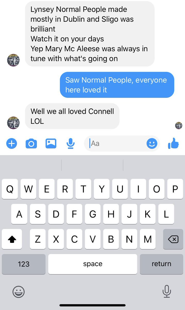 My 70 year old mother lusting over Paul Mescal 😳 @mescal_paul #NormalPeople https://t.co/1aDvdRbaf8