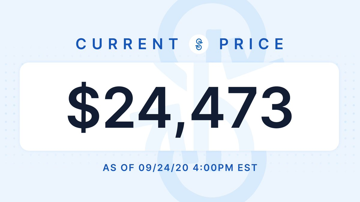 Your daily #crypto price update, featuring $YFI 💸 https://t.co/dRkyx5ChJv