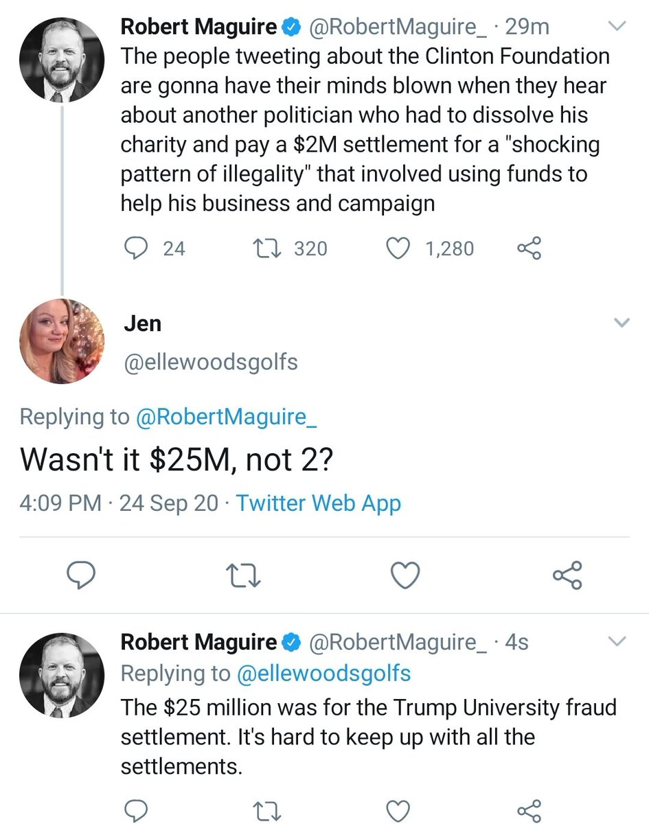 I worked on both the Trump Foundation and Trump U cases when I was in the NY AG's office. It is, indeed, hard to keep up with the grift. https://t.co/qbg7I9LHIj