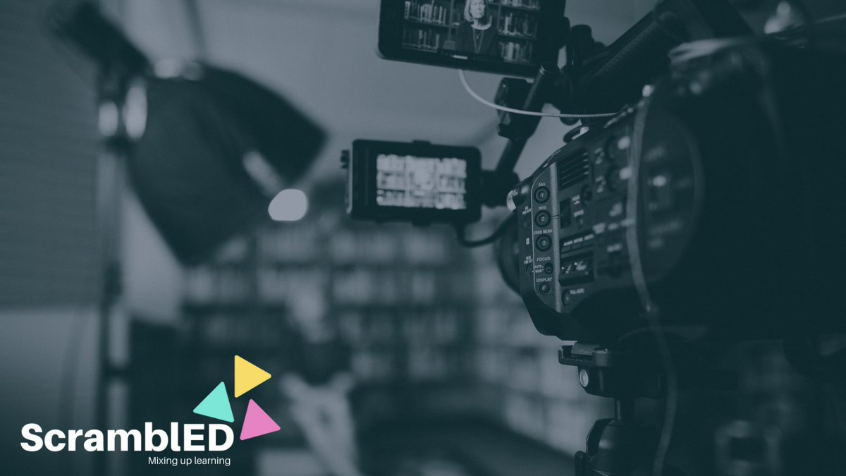 Check out a day in the life of a video director & producer and how they use technology https://t.co/nRu3RyJRZx #scramblEDmixitup #GoogleEI #nyc19 https://t.co/UQG6k8WVtI