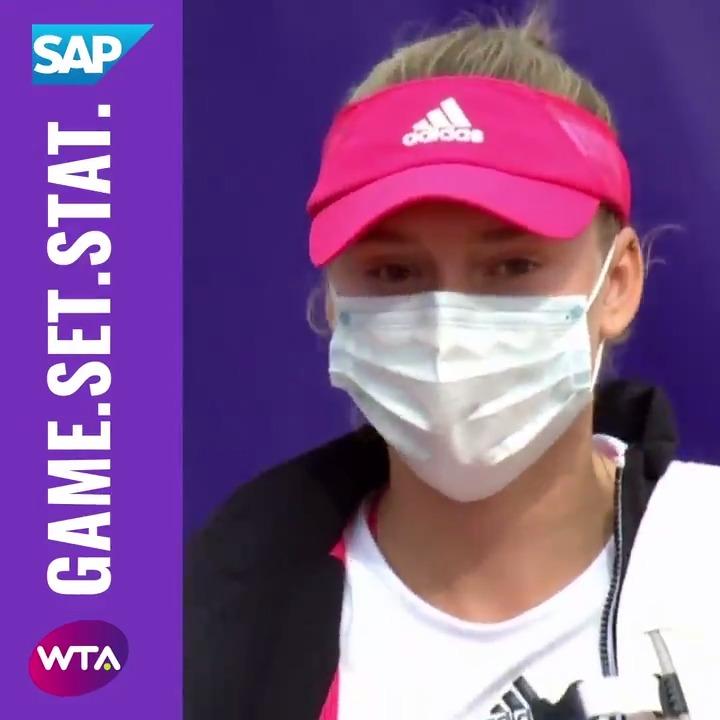 Elena Rybakina... stats leader  @SAPSports   #SAPGameSetStat https://t.co/5PT3hN1qjT
