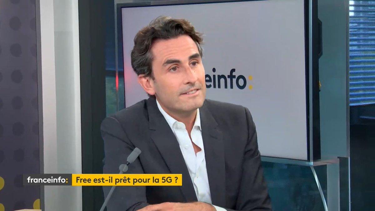 """VIDEO ▶ 5G : """"Les consommateurs verront une différence"""", selon Thomas Reynaud, directeur général de Free  C'est dans l'invité éco, à regarder ici 👇  https://t.co/Us9wNi9jWM https://t.co/NhVw5pdZR7"""