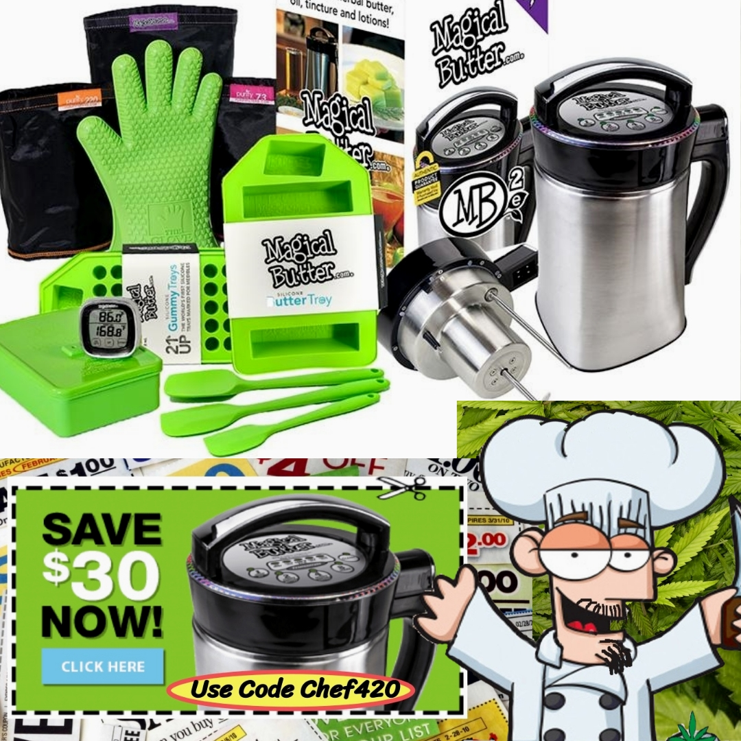 Chef 420s Reviews the Magical Butter Machine. If you are Interested in getting a MB 2e Infuser, I'll break it down for you.  >>https://t.co/ED5YkcKG71  #Chef420 #Edibles #Medibles #CookingWithCannabis #CannabisChef #CannabisRecipes #InfusedRecipes @MagicalButter #CannaFam https://t.co/lGAkMlLwBR