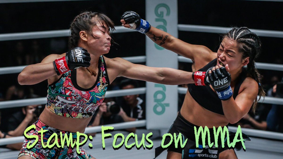 My thoughts on Stamp Fairtex after recently dropping the ONE Muay Thai title Stamp Fairtex Should Focus on MMA Now https://t.co/O7LgcwYxld via @YouTube #WMMA #ONEChampionship #MMA https://t.co/hT18xFoLR6