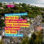 Image for the Tweet beginning: Die #FDP in #Monschau ist