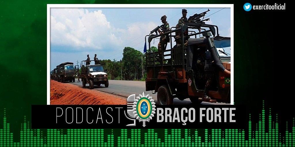 A Operação Amazônia 2020 é o maior exercício de adestramento militar já realizado na região Amazônica. Tropas e meios de diversas regiões do país se reúnem em ambiente de selva, numa demonstração de emprego em defesa do País. Clique e ouça: https://t.co/8e8Yu299ys https://t.co/nSO0rmarzk