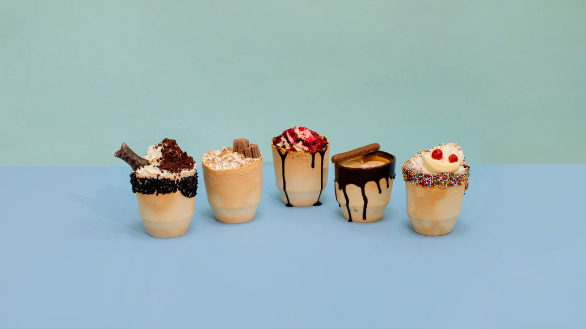 Good to the last s̵i̵p̵ bite… try an #ediblecupcreation at Christchurch Airport. These one-of-a-kind treats are totally delish and served in a completely edible biscuit cup by #twiicenz. Available at select airport outlets for a limited time. More info: https://t.co/RiSR154u3a https://t.co/f2fA9TxCWt