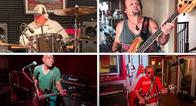 Watch SAMMY HAGAR & THE CIRCLE Cover 'Sympathy For The Human' As Part Of 'Lockdown Sessions' https://t.co/BaensTWSRm https://t.co/1A3dXeLbvS
