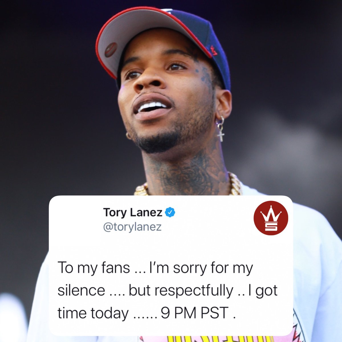 Looks like #ToryLanez will be addressing his fans later this evening...👀 @torylanez https://t.co/gXoKYlMsSp
