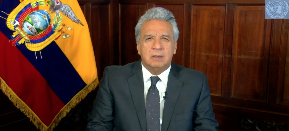 """This week at #UNGA, @EcuadorONU calls for a """"strong, united, and committed #multilateralism"""" #MultilateralismMatters. https://t.co/oN6sRxyPZB"""