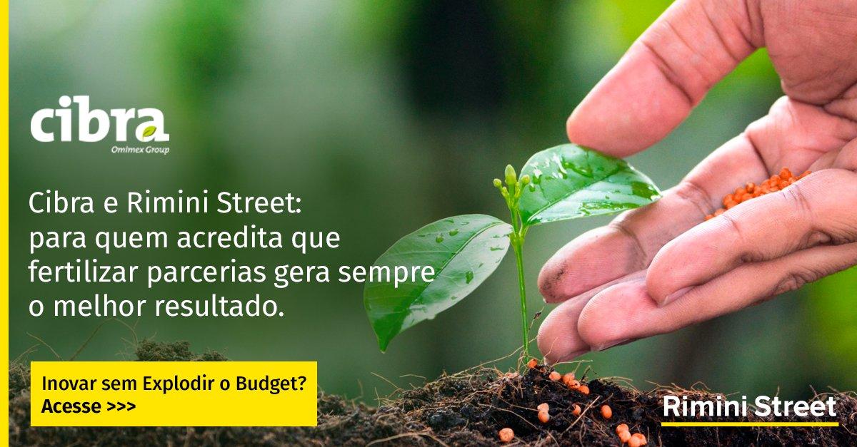 A Cibra mudou seu suporte #ERP #SAP para a Rimini Street e tem uma operação de TI muito mais eficiente e estratégica.  Inovar sem explodir o budget? Acesse https://t.co/J07uB1fcNt  #HappyRiminiClient https://t.co/KUNA4Ie694
