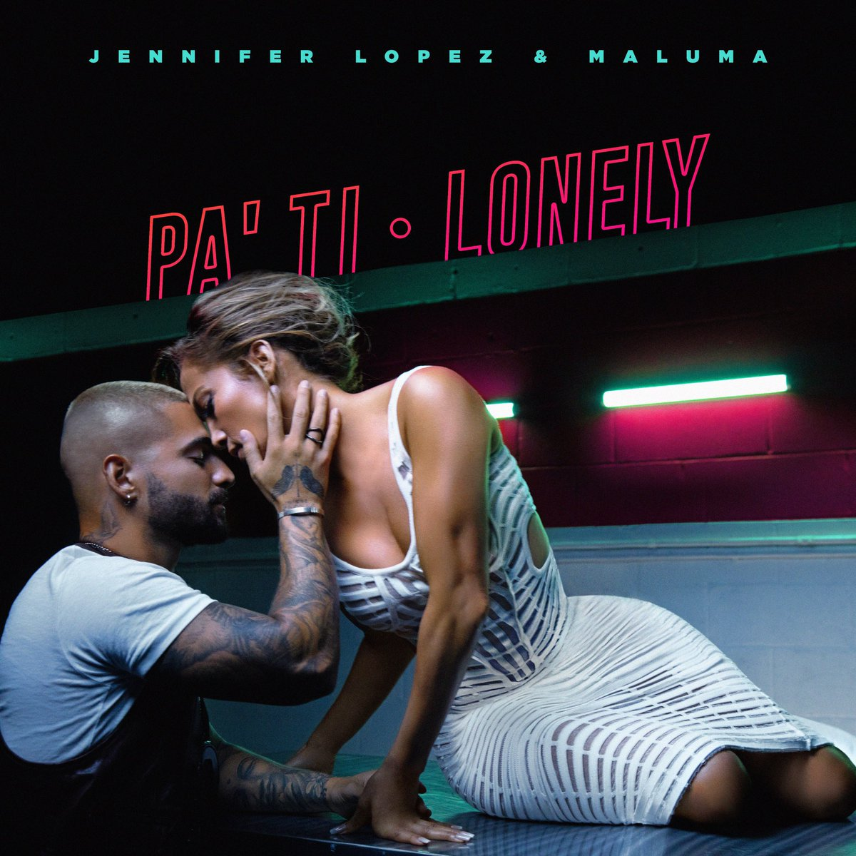 """IMPORTANT: @JLo & @maluma's 2-part collaboration """"Pa' Ti - Lonely"""" drops in an HOUR https://t.co/mSL9NESZTS https://t.co/7LVRFd7nRn"""