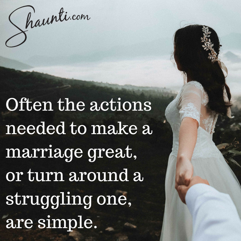Often the actions needed to make a marriage great, or turn around a struggling one, are simple. https://t.co/xFJ6wifo4U