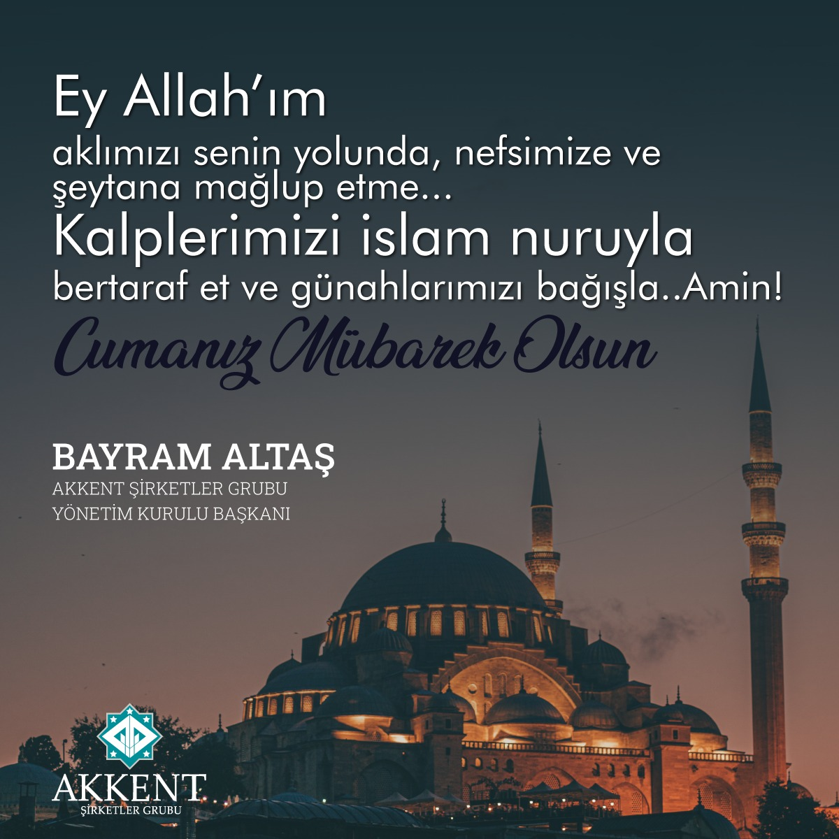 """""""İnsan, şerri de hayrı istediği gibi ister. İnsan pek acelecidir!"""" İsra-11  Hayırlı Cumalar 🤲🏻 ... #Baltas #Akkentgroup #istanbul #akmahal https://t.co/4TuIlZ59CV"""