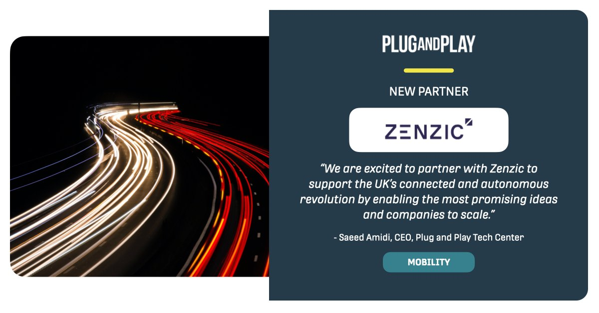 Our partner @ZenzicUK has just launched a new program to help UK self driving #startups get on the road to market success. The program provides mentorship along with other benefits like funding and testing opportunities.   Read more 👉 https://t.co/dKr3nHKwcx https://t.co/6uHwOs0X1j