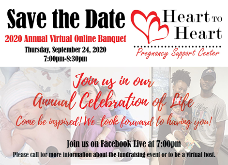 Join Heart to Heart tonight, for their annual virtual banquet at 7:00 pm! #celebratelife #ICFS https://t.co/WpAbwdbWHo