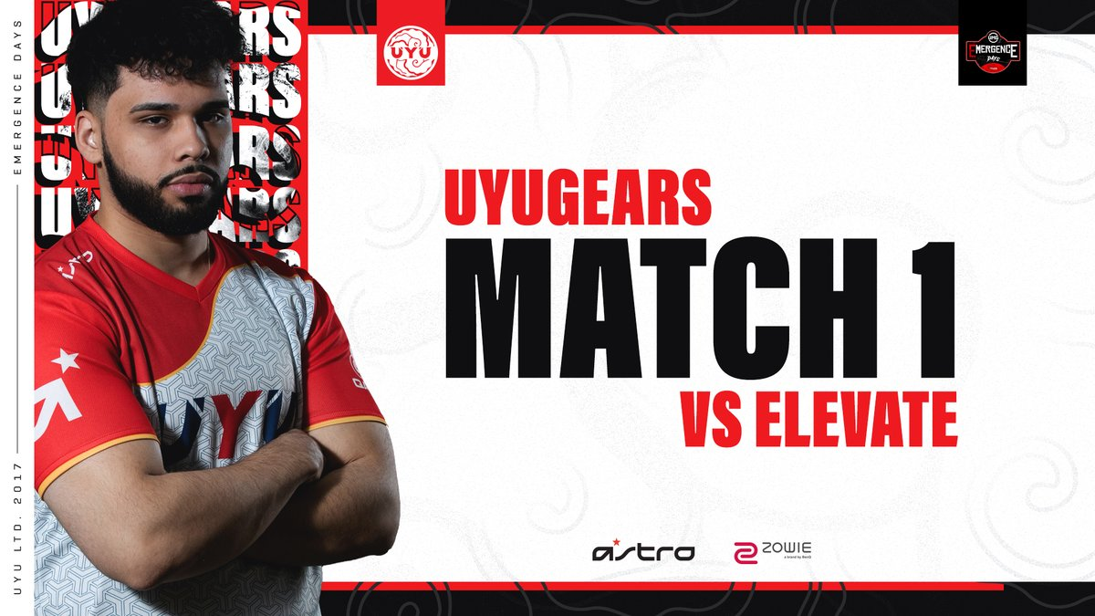 Tune in as #UYUGears makes their return to the @UMGGaming Emergence Days this week!  First up we take on @ElevateGG!  https://t.co/8BzYDVsUle https://t.co/JSWVs6VkZu