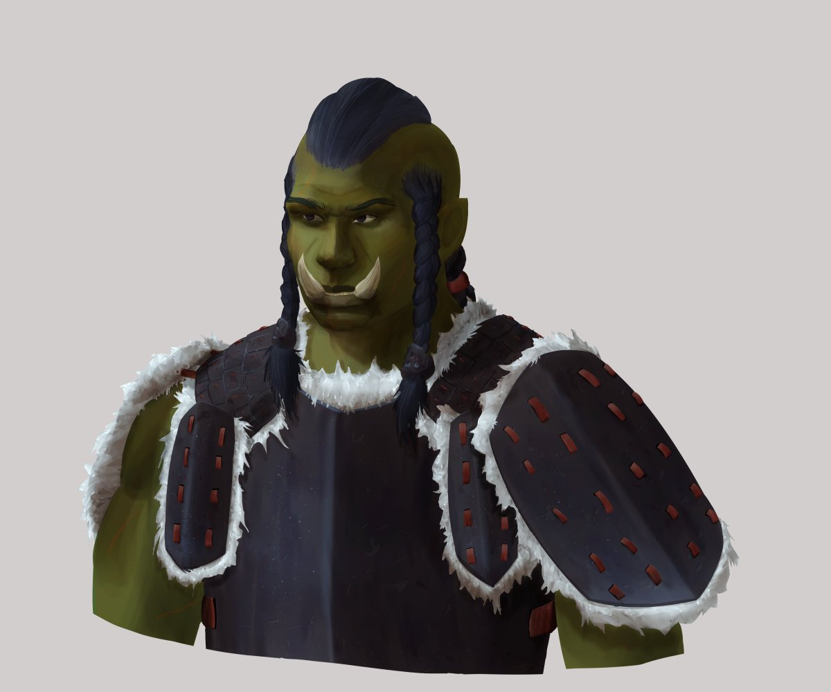The orc archers could skewer all but the strongest of armors, if they managed to hit that is. #orc #fantasy #armor #concept #art https://t.co/vbFDw8E4OH