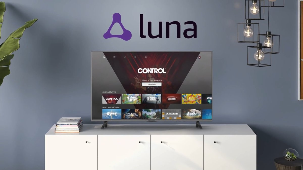 Amazon's Luna cloud gaming service sounds an awful lot like the cable of video games