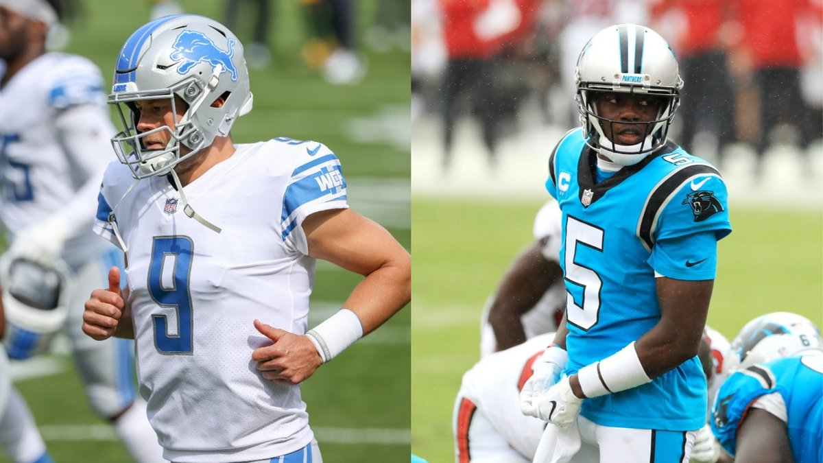 Active losing streaks dating back to last season: - Panthers: 10 losses in a row - Lions: 11 losses in a row  Who will break their streak first? https://t.co/0Ms9mXtPBX