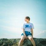 Image for the Tweet beginning: そろそろ夏の海の写真は、終わりかな。もう少し海に行っとけっばよかったのだけれど、これからの秋の海も空気が澄んできていいんだよね。  model:そるてぃさん @Na692y  #そるてぃ #夏の思い出 #summer2020 #海 #sea #blue #夏少女 #写真好きな人と繋がりたい #写真撮ってる人と繋がりたい