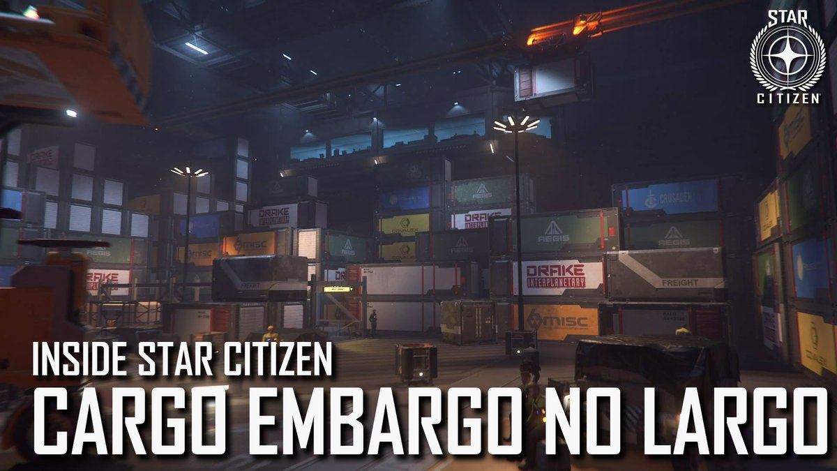This week on Inside Star Citizen we get a closer look at Cargo Decks, and get down with a funky Patch Report.  Watch now: https://t.co/L5R6A9eZDJ https://t.co/Js5Uf2zqIX