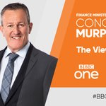 Image for the Tweet beginning: 📺 Finance Minister @conormurphysf will