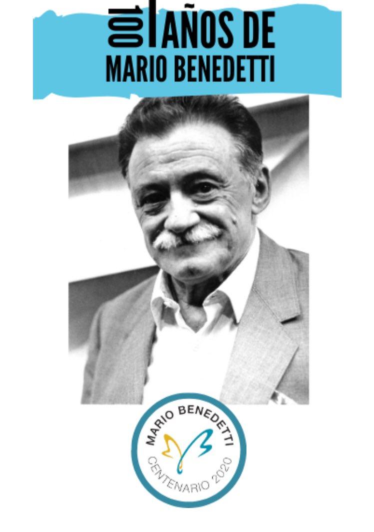 La @GuiaBenedetti, @MEC_Uruguay, @montevideoIM y @Udelaruy llevan a cabo desde agosto hasta finalizar el año, diversos eventos para conmemorar el centenario de Mario Benedetti (14/09/1920 – 17/05/2019), uno de los autores más leídos en Uruguay y en el mundo. 🇺🇾🌎 1/3 https://t.co/RGtELgy5HW