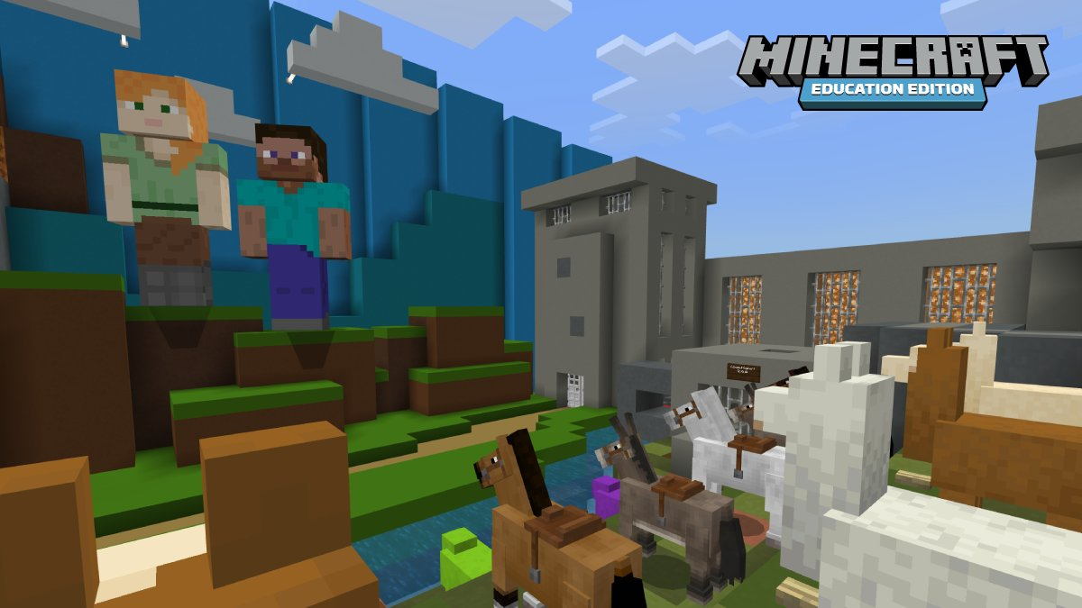 For educators in Victoria, Australia, #MinecraftEdu represented a powerful vehicle for collaboration and community in the midst of a global health crisis. @BronSt and @laurenarkley share how teachers took the lead during remote and #HybridLearning: https://t.co/bU1spGU9J0 https://t.co/iHZQWnjPCL