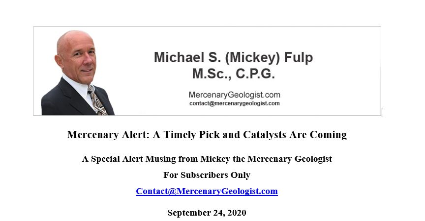 NEW ALERT! Mickey has just released an alert with some great and timely information on a stock pick. To find out more, SUBSCRIBE now for instant and early access ==>   https://t.co/TcS4sl73PO   #Investing #JuniorMining #Mining #Exploration #Stocks https://t.co/QvfiRlGlmf