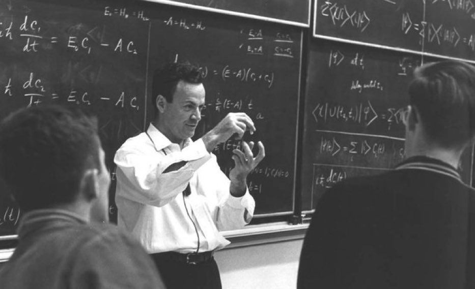 The problem is not people being uneducated.  The problem is that people are educated just enough to believe what they have been taught, and not educated enough to question anything from what they have been taught.   —Professor Richard Feynman https://t.co/3g772LZ4br