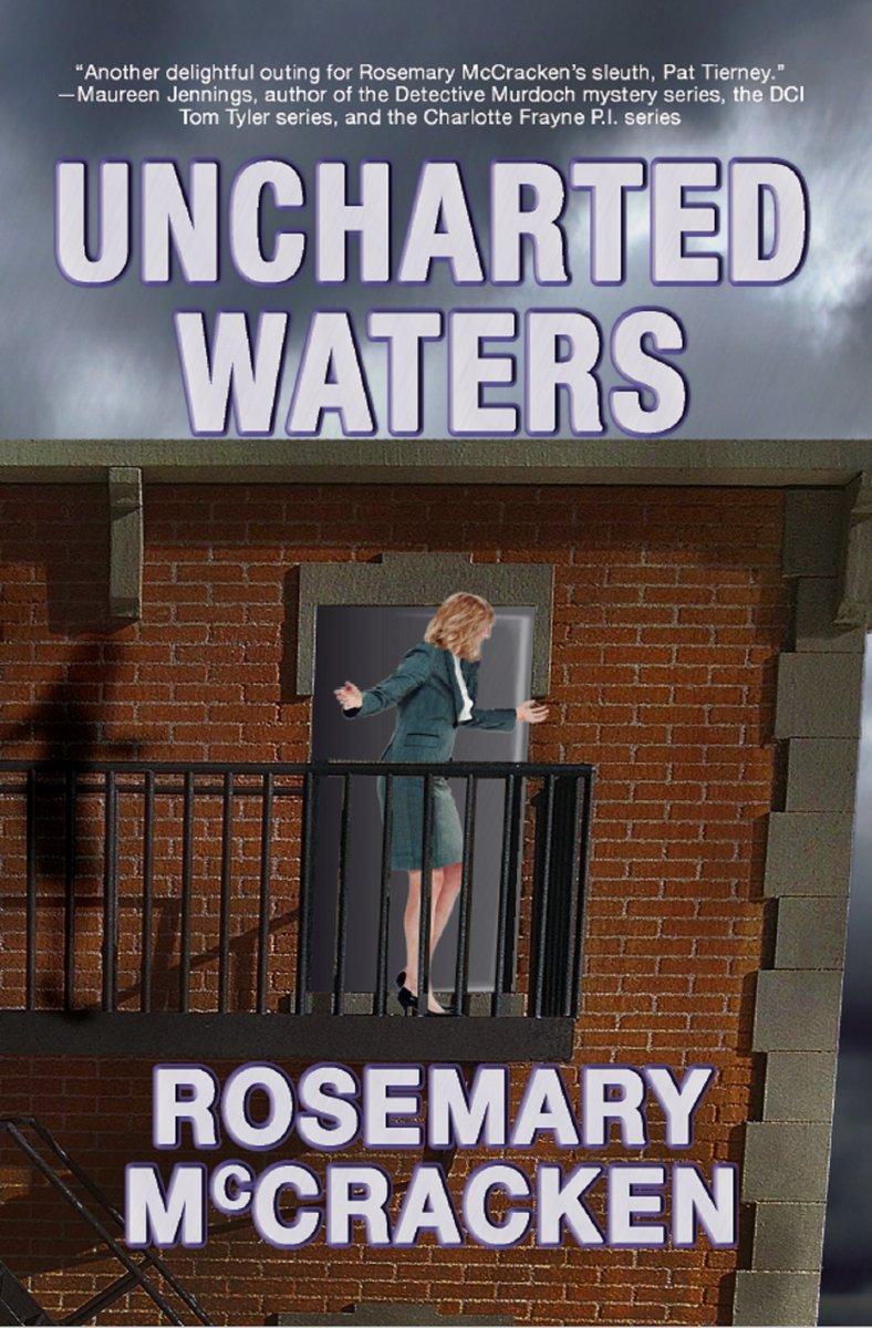 Pat Tierney is back, navigating UNCHARTED WATERS. Can #murder be far behind? https://t.co/7dyIADz27B #newrelease #suspense #mystery https://t.co/AvrZrYXVBU