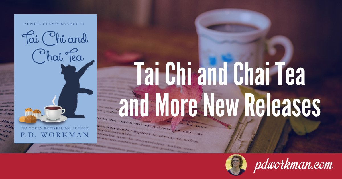 Release day for Tai Chi and Chai Tea! #cozymystery #newrelease https://t.co/H0OR3E0lR0 https://t.co/oDj9YDlVP0