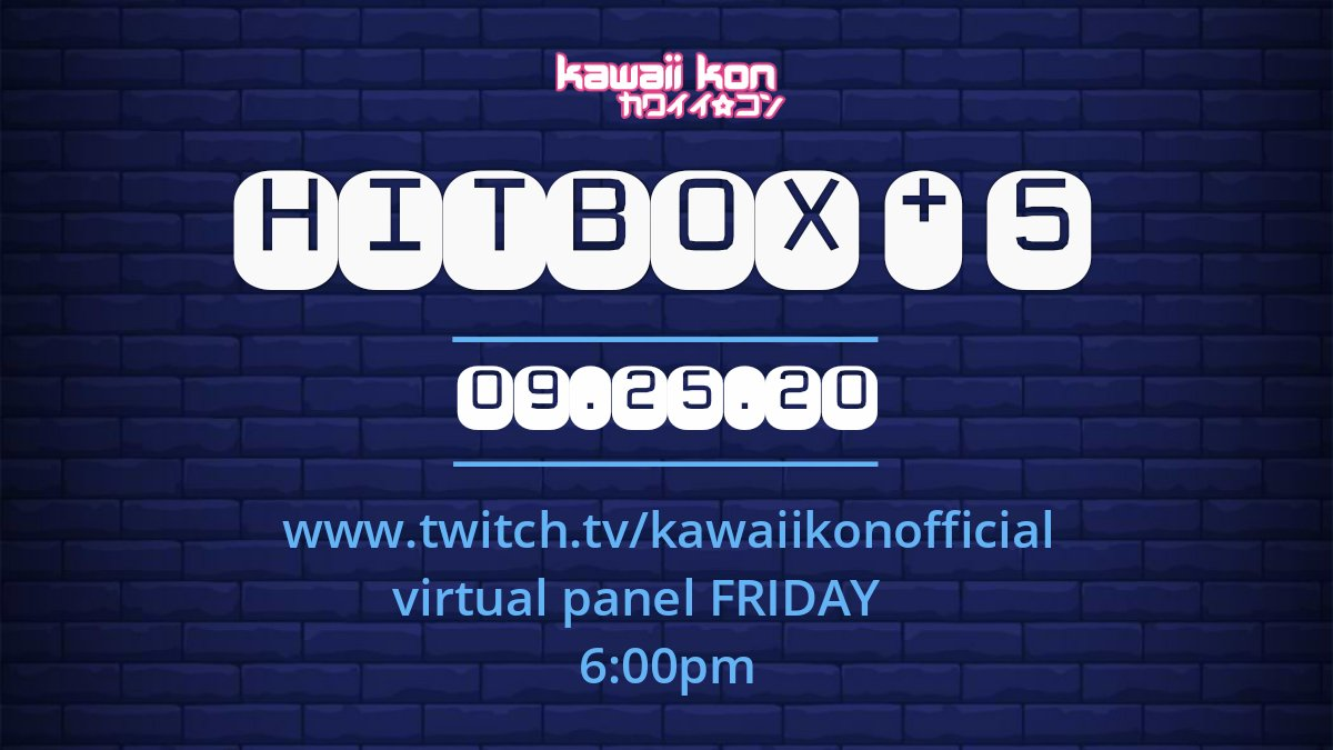 """Ayy one of my video game arrangements is getting performed by Hitbox Ensemble at Hawaii's anime convention """"Kawaii Kon"""" tomorrow virtually at 6pm GMT-10! https://t.co/dOqBtMr4qk"""
