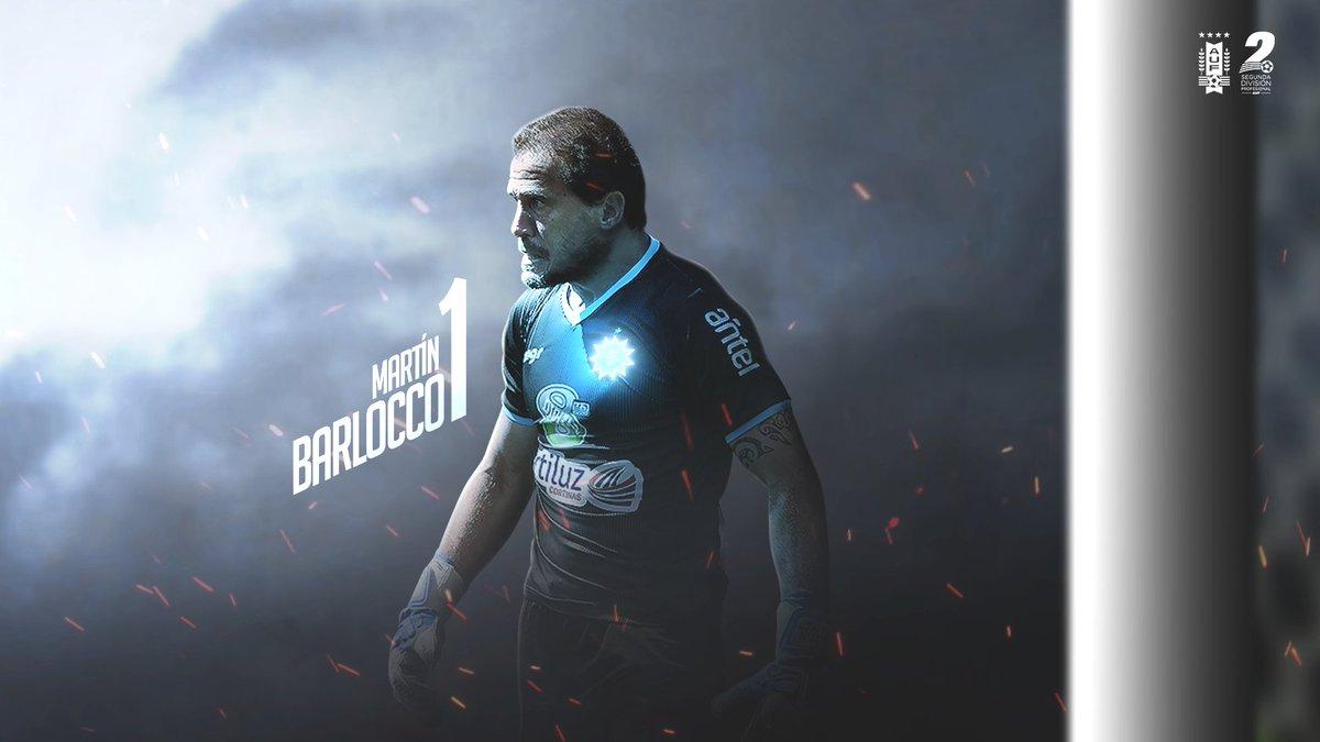 👀 Con la mirada fija 🔝⭐️ Martín Barlocco (@rochafutbolclub) fue elegido por el público como el mejor jugador de la fecha 9️⃣ de la #SegundaProfesional.