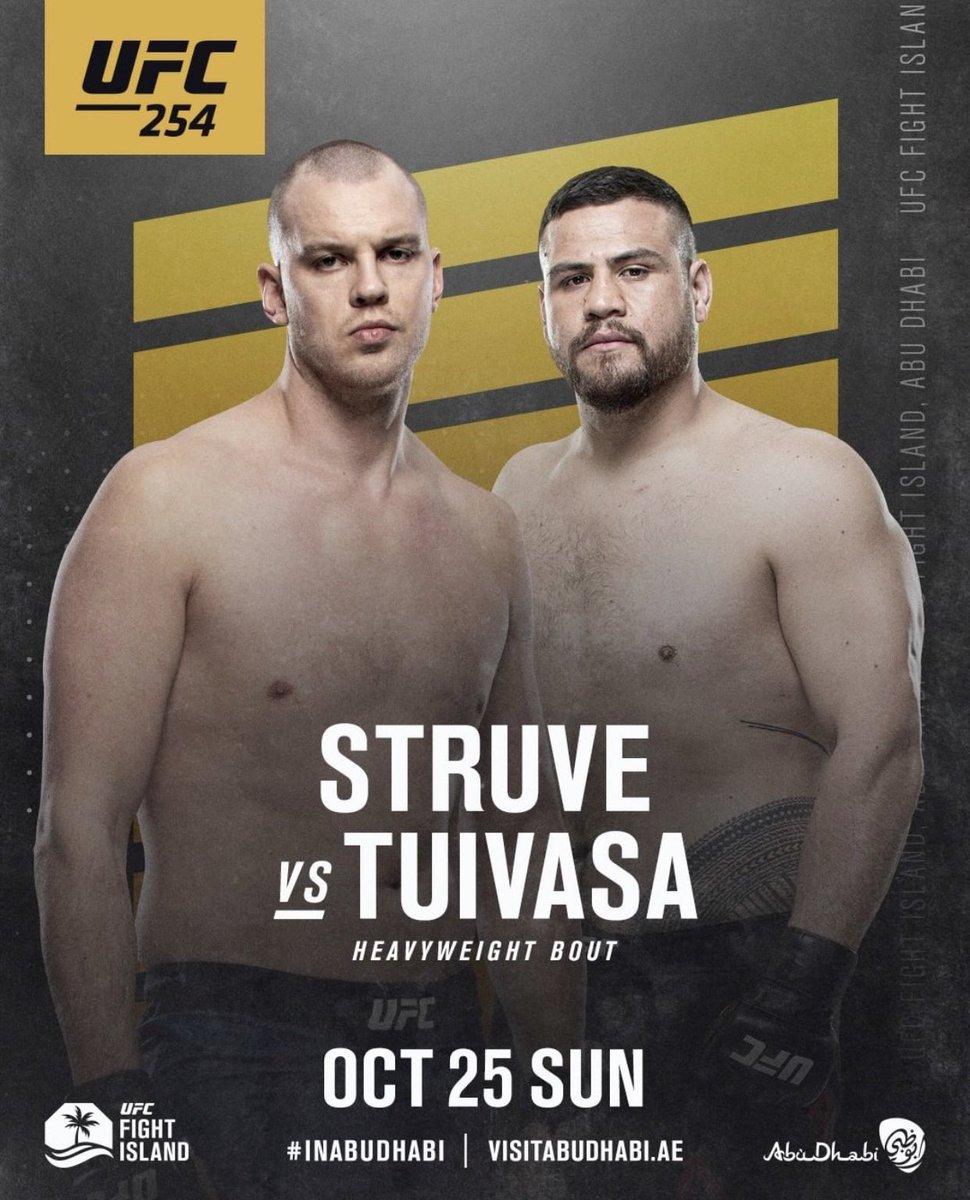 .@bambamtuivasa is back against @StefanStruve at #UFC254! https://t.co/2V77y6W1wT