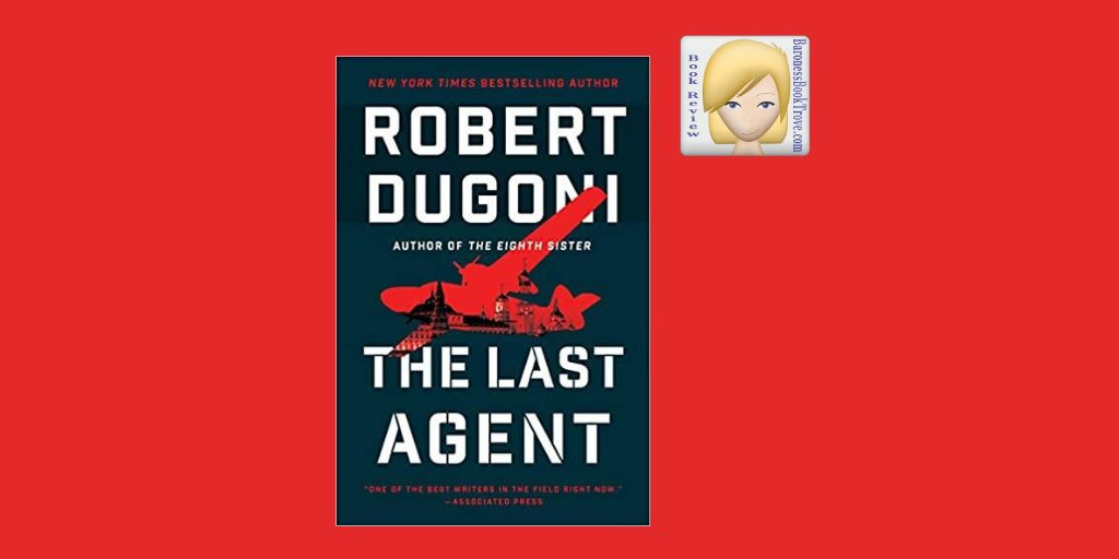 🙂🛩️Book Review 📙💜 Hello. Here is a new #bookreview for THE LAST AGENT by @robertdugoni. This is the 2nd book in the Charles Jenkins series. Here's the link: https://t.co/WaIKDL47h7 #Mystery #NewRelease #read #bookworms #booknerds #bookaholic #thriller #SpiesAndEspionage https://t.co/eOndUxJzKl