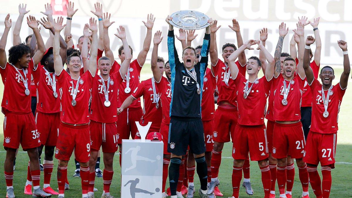 ¡4️⃣ títulos en el 2020! 🏆  #BayernMunich es el MEJOR equipo del MUNDO 🔥  #Bayern #Bundesliga #Futbol #Deportes https://t.co/gnPlkHFB4t