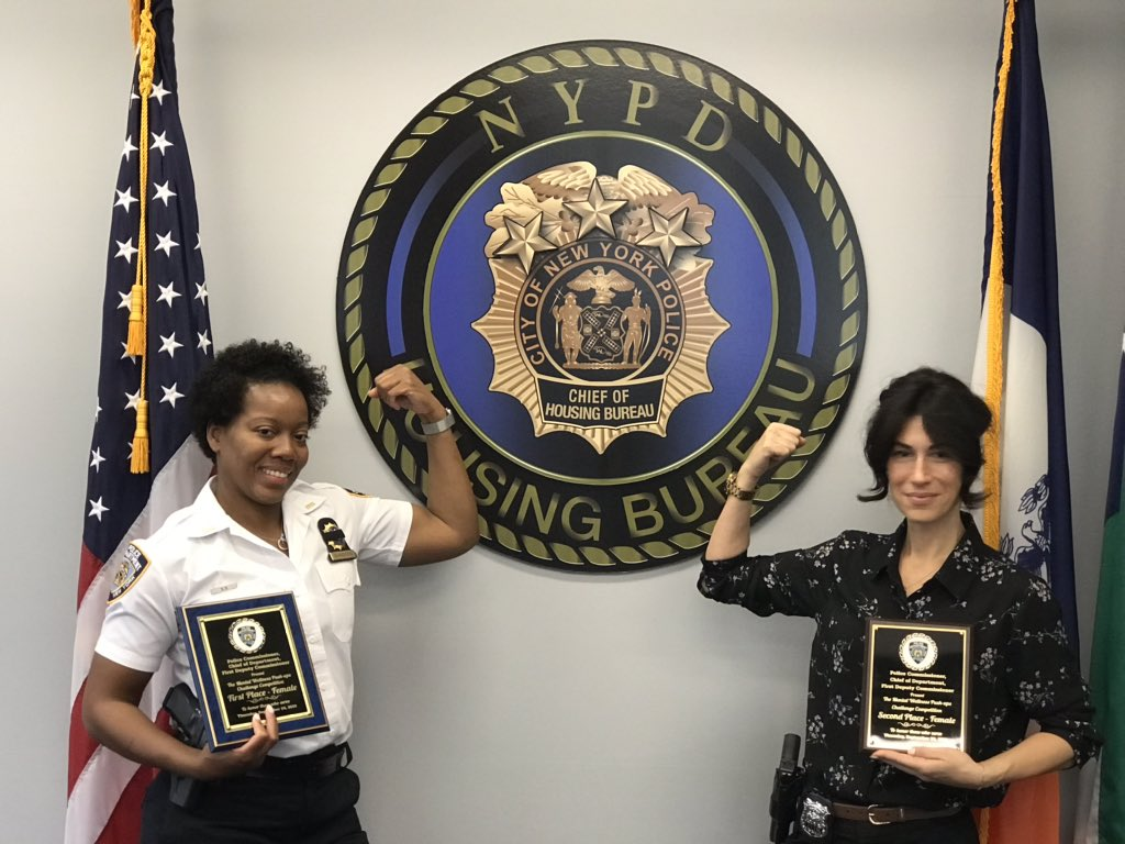 The Housing Bureau represented well with our very own Lieutenant Sanders and Officer Rizzo winning 1st & 2nd place at today's 22 push up challenge, which raised awareness to Police Officer suicides. Great Job. https://t.co/RFZOo4TljV