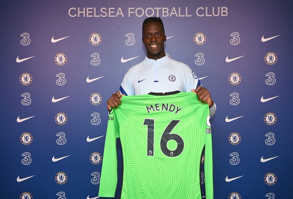 Mendy said he's a Chelsea fan! 'Yes! I've been a Chelsea supporter since I was little. I adore this club. When I was 12 I had the chance with a past club I played for to go to Brighton, and we watched a match. I thought English football was amazing