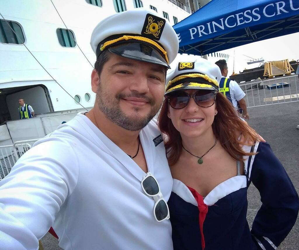Literally dressing up as sailors while sailing around the Caribbean two years ago!  #sailors #costumes #Caribbean #shiplife #crewlife #photographers #PrincessCruises #tbt https://t.co/YXNUZT3dLk https://t.co/82y38lvb88