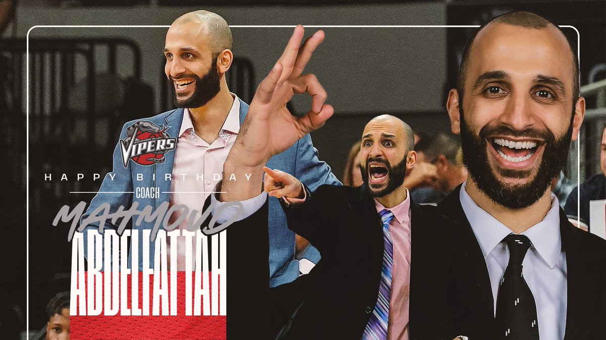 Happy Birthday Coach Mahmoud Abdelfattah🎂🐍 May all your swishes come true! ☄️   #VipersFam #RGVVipers #NBAGLeague #Bday https://t.co/nDmu2kJLvH