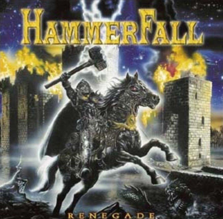 """#HammerFall """"Renegade""""(2000)を聴いてます。パワーメタルを代表するスウェーデン発の3rdアルバム。この作品で🇸🇪1位を獲得し、母国を代表するバンドのひとつとなりました🤩 Renegade https://t.co/HqrQcVJvtP  #PowerMetal #HeavyMetal https://t.co/YegYjIfGWT"""
