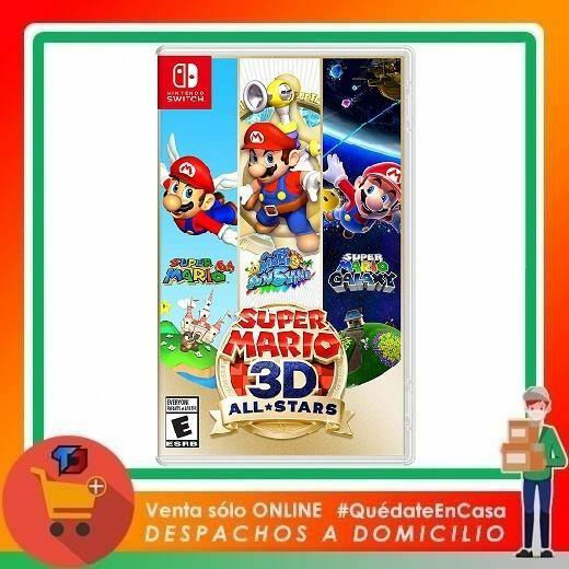 DISPONIBILIDAD GARANTIZADA Super Mario 3D All Stars PARA NINTENDO SWITCH Comprar Aca… https://t.co/yXTl0PTOru https://t.co/LzYIMB9lCc