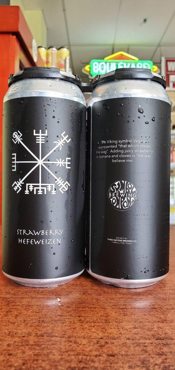NEW @3nationsbrewing Strawberry Hefeweizen 5.2%  #mckinneytx #craftbeer #shoplocal #drinklocal #allentx #friscotx #texas #texascraftbeer #melissatx #txbeer https://t.co/lQDu4nEznb