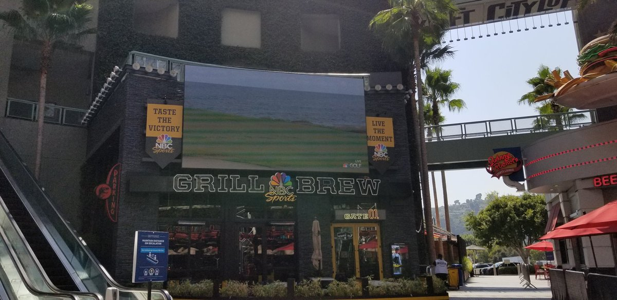 And I Can't Wait To Try Out The New Food At The NBC Sports Grill & Brew When It Opens Sometime In 2020 Or 2021! #UniversalCitywalk #UniversalStudiosHollywood  #NBCSportsGrillAndBrew #NBCSports #NBC #NBCLA #NBCUniversal https://t.co/tW26OpNGpQ