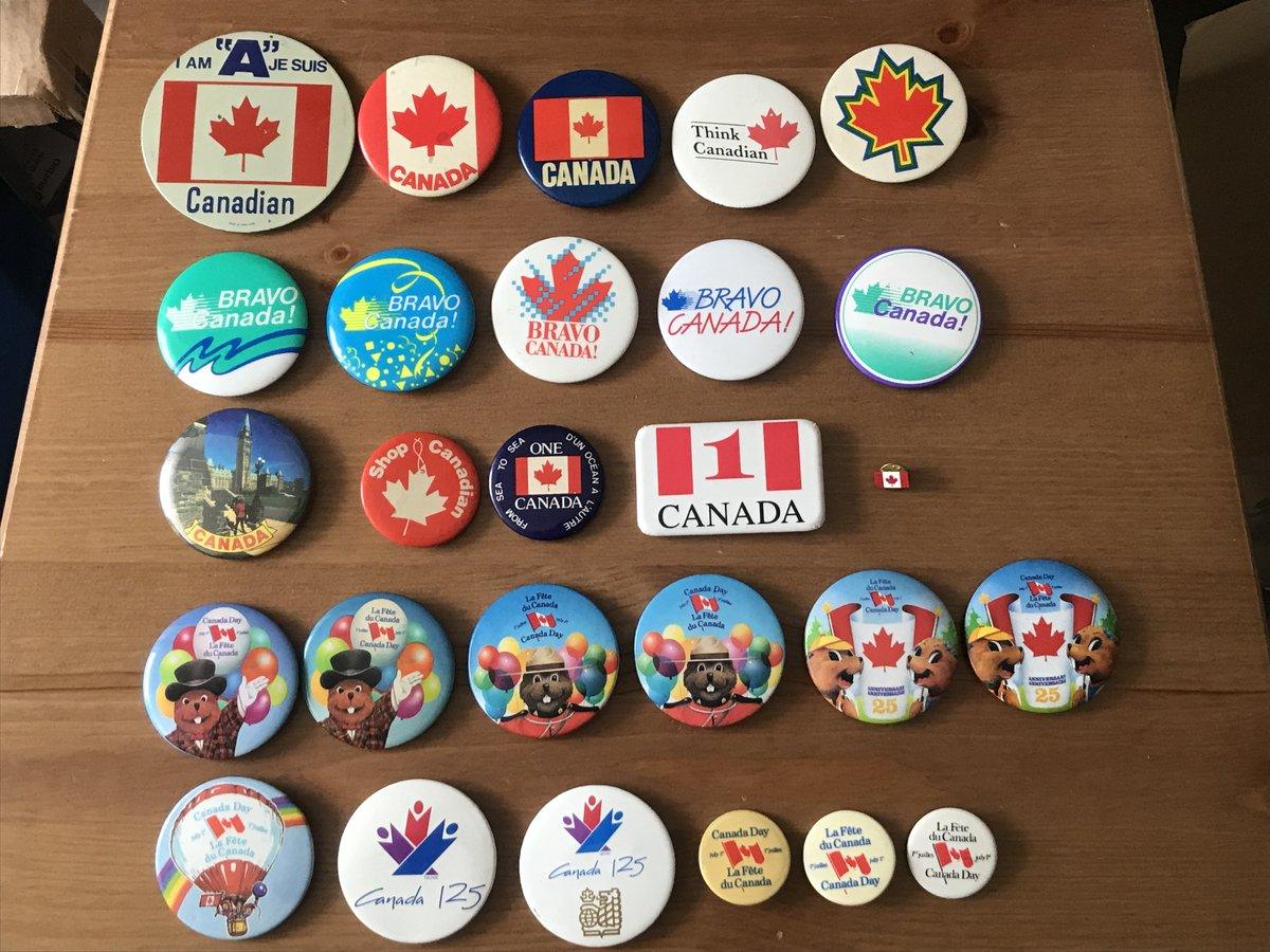 Canada & Saskatchewan tourist/souvenir/event buttons & lapel pins 3 for $2 for sale.   Don't miss out.   Find them at https://t.co/CLALA7WDrd #history #cdnpoli #skpoli https://t.co/44Kd96XYUE