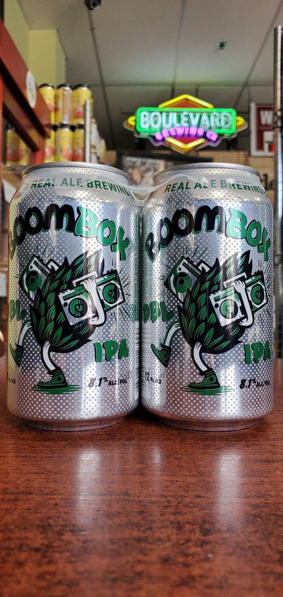 NEW @realalebrewing Boombox Double IPA 8.1%  #mckinneytx #craftbeer #shoplocal #drinklocal #allentx #friscotx #texas #texascraftbeer #melissatx #txbeer https://t.co/2RkKlGna40